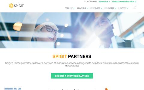 Spigit Partner Network