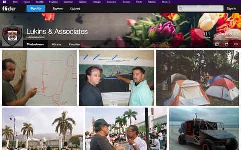 Screenshot of Flickr Page flickr.com - Flickr: LukinsAssociates' Photostream - captured Oct. 23, 2014