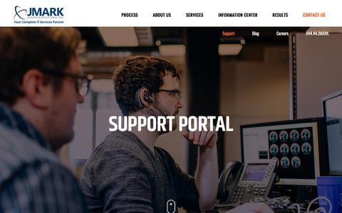 Support Portal - JMARK