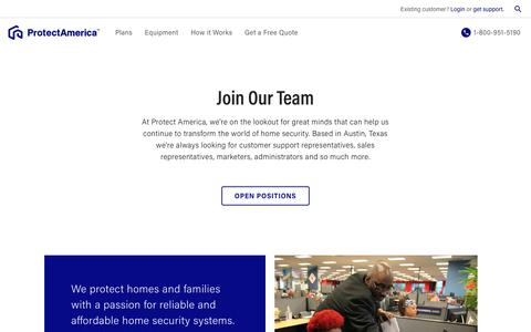 Career and Job Opportunities | Protect America