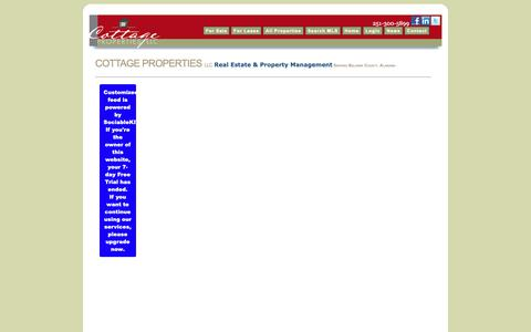 Screenshot of Press Page cottagepropertiesllc.com - Daphne-Real-Estate | Fairhope-Real-Estate | Spanish-Fort-Real-Estate | Baldwin-County-Real-Estate - captured Oct. 21, 2018