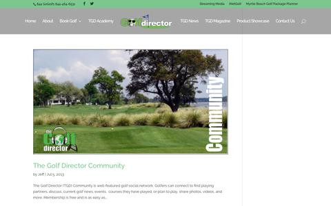 blog | TheGolfDirector.com