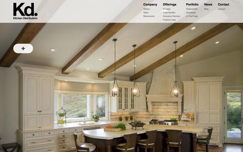 Screenshot of Case Studies Page kitchendistributors.com - Case Studies | Kitchen Distributors - captured Oct. 6, 2014