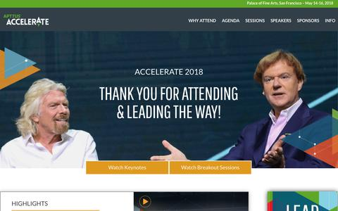 Accelerate 2018 | The Quote-to-Cash Event of the Year