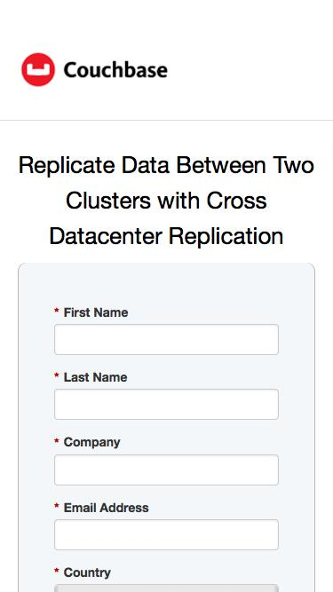 Replicate Data Between Two Clusters with Cross Datacenter Replication