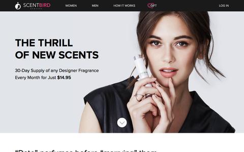 Scentbird Perfume Subscription: Designer Scents $14.95