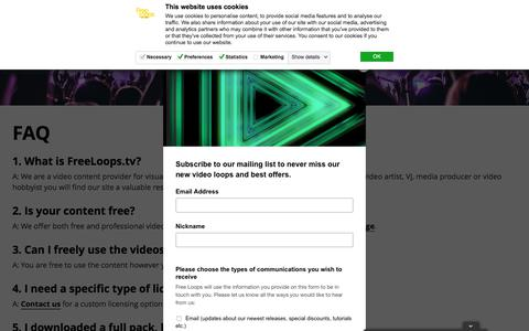 Medium traffic Media FAQ Pages on WordPress | Website Inspiration