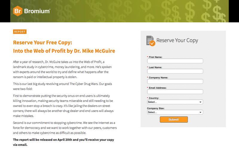 Web of Profit | Bromium
