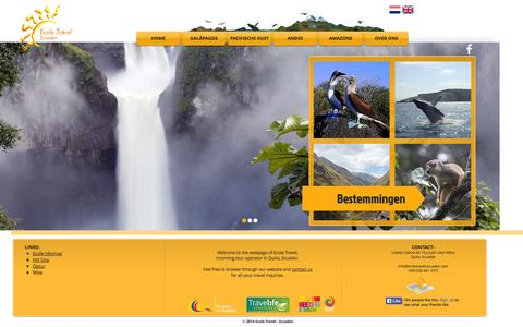 Screenshot of Team Page ecoletravel-ecuador.com - Ecole Travel | Ecuador - captured Sept. 30, 2014