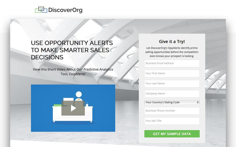 Deliver Real-time Insight from Online Activity | DiscoverOrg