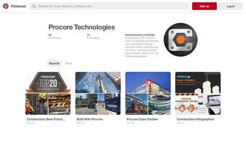 Procore Technologies (procorejobs) on Pinterest