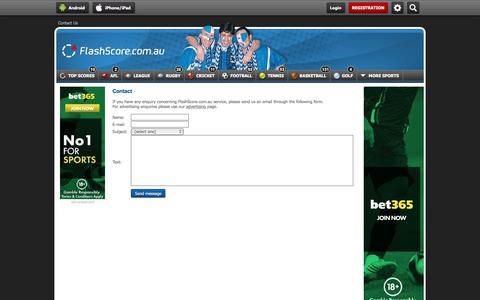 flashscore com au's Web Marketing Designs   Crayon
