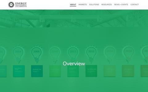 Screenshot of Team Page emcllc.com - Overview :: Energy Management Collaborative, LLC - captured Sept. 28, 2018