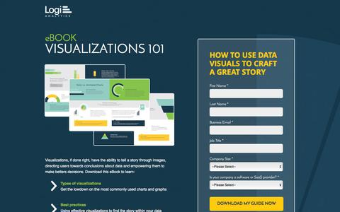 Screenshot of Landing Page logianalytics.com - Best Practices for Data Visualizations | Logi Analytics - captured Feb. 16, 2016