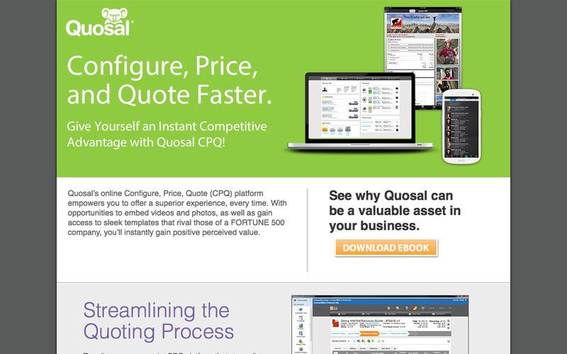 Configure, Price, and Quote Faster!