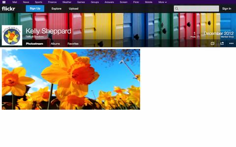 Screenshot of Flickr Page flickr.com - Flickr: Daffodil Solutions' Photostream - captured Oct. 23, 2014
