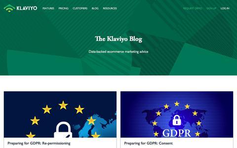 The Klaviyo Blog - Klaviyo