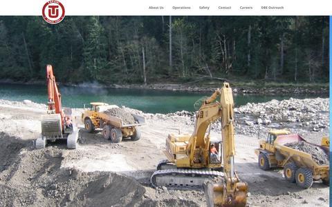Screenshot of Home Page tapani.com - Tapani Inc.   - captured Oct. 6, 2014