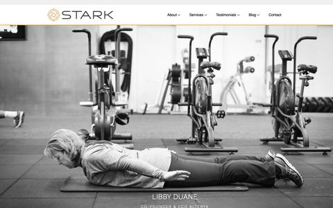 Screenshot of Testimonials Page starklife.us - The Amazing Personal Training Clients at STARK in Irvine - captured Oct. 20, 2018