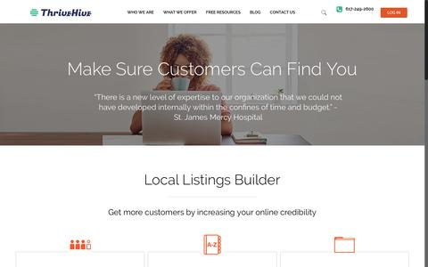 Local Listings Builder | Maps Listings | Propel Marketing