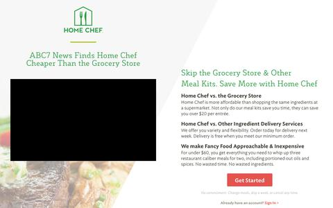 Home Chef Vs. The Grocery Store | Home Chef