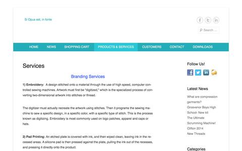 Screenshot of Services Page pro3agencies.co.za - Services | www.pro3agencies.co.za - captured Sept. 30, 2014