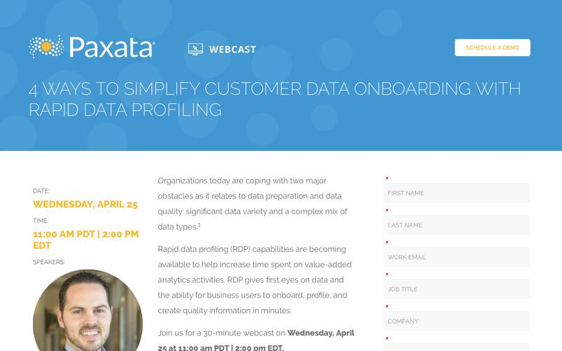 4 Ways to Simplify Customer Data Onboarding with Rapid Data Profiling