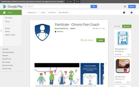 PainScale - Chronic Pain Coach - Apps on Google Play