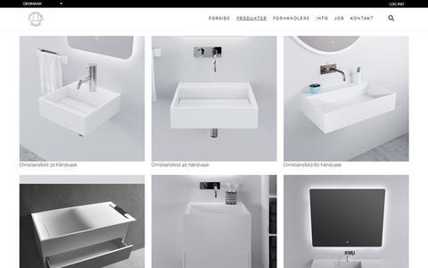 Screenshot of Products Page copenhagenbath.dk - Copenhagen Bath - captured June 27, 2018