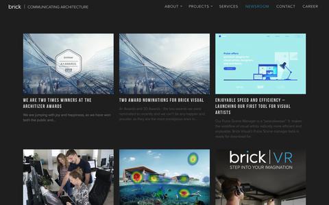 Screenshot of Press Page brickvisual.com - brickvisual   architectural visualization newsroom - captured Aug. 3, 2018