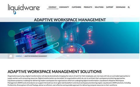 Screenshot of Team Page liquidware.com - Adaptive Workspace Management - Liquidware - captured Dec. 14, 2019