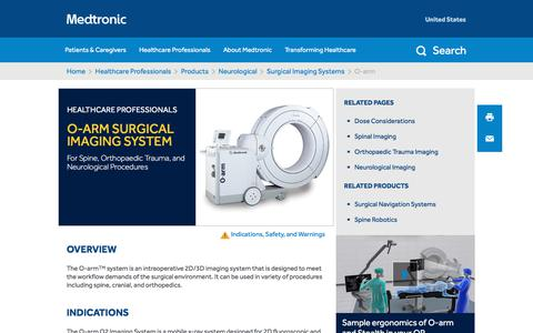 O-arm - Surgical Imaging Systems | Medtronic