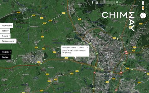 Screenshot of Contact Page chimeway.nl - Chimeway | contact - captured Sept. 29, 2014
