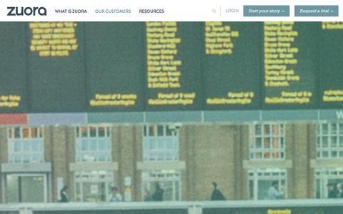 Screenshot of Case Studies Page zuora.com - Case Studies - Zuora - captured Oct. 28, 2014