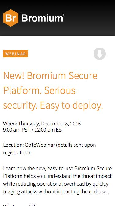 Find Out What Bromium Can Do For You