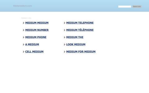 thisismedium.com-thisismedium Resources and Information.