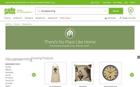 Housewarming Gifts & Merchandise | Housewarming Gift Ideas | Unique - CafePress