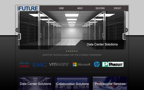 Screenshot of Home Page dot-future.com - Dot Future: Cisco, Microsoft, IBM, EMC, Avaya, HP - captured Jan. 7, 2016