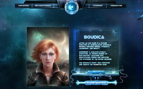 Screenshot of Home Page magnetargames.com - Magnetar Games - captured Sept. 29, 2014