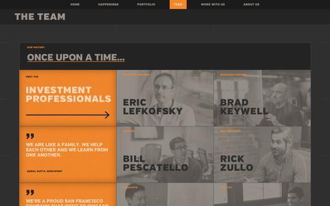Screenshot of Team Page lightbank.com - Eric Lefkofsky & Brad Keywell (Co-Founders) & Lightbank Team - Lightbank - captured Feb. 13, 2017