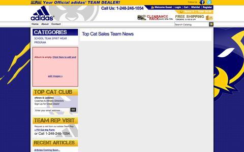 Screenshot of Press Page topcatteamsales.com - Top Cat Sales Team - captured Sept. 21, 2018