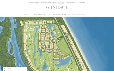 Screenshot of Maps & Directions Page windsorflorida.com - Luxury Residential Waterfront Real Estate | Windsor | Vero Beach, Florida - captured Nov. 30, 2016