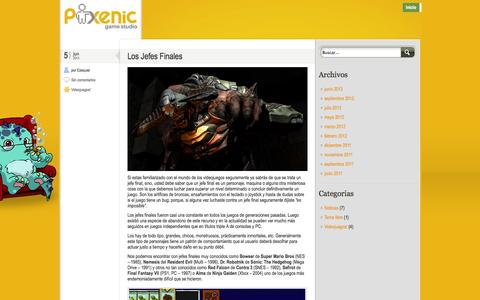 Screenshot of Blog pixenic.com - Pixenic Blog - captured Sept. 30, 2014