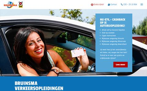 Screenshot of Home Page bruinsma.nl - Home - Bruinsma - captured Sept. 25, 2018