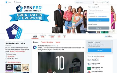 PenFed Credit Union (@PenFed) | Twitter