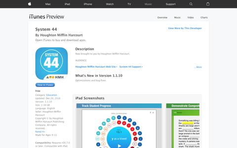 System 44 on the App Store