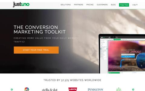 Conversion tools for lead capture, sales, and website messaging
