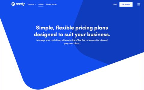 Screenshot of Pricing Page rezdy.com - Pricing : Rezdy - captured July 3, 2018