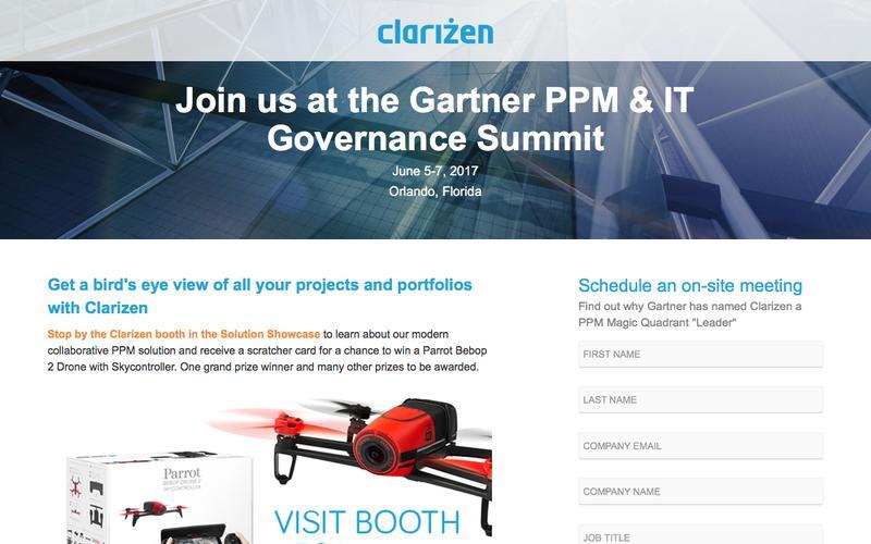 Join us at the Gartner PPM & IT Governance Summit