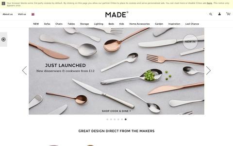 Designer Furniture & Homeware | made.com